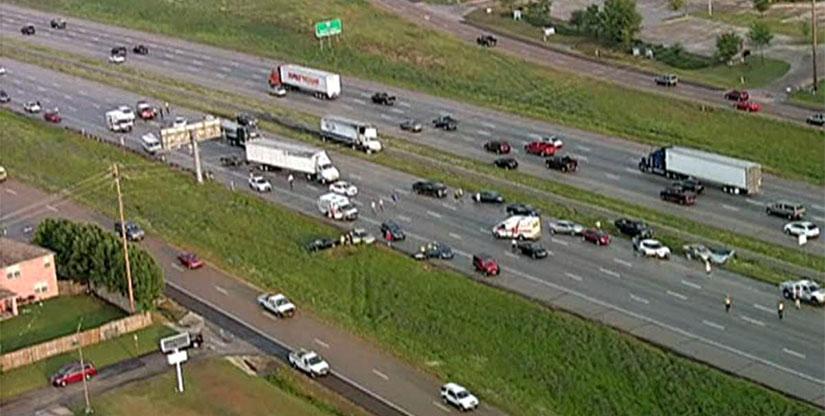 Arlington Texas Pileup Accident