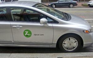 Zipcar Accident, Dallas, Texas.