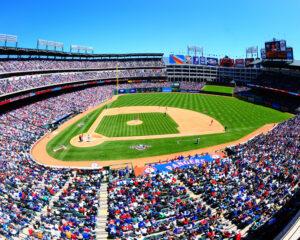 Slip and Fall at Rangers Stadium in Arlington Texas