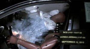 Honda Air Bag Explosion