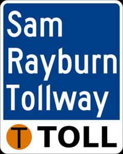 Car Wrekcs on the Sam Rayburn Tollway