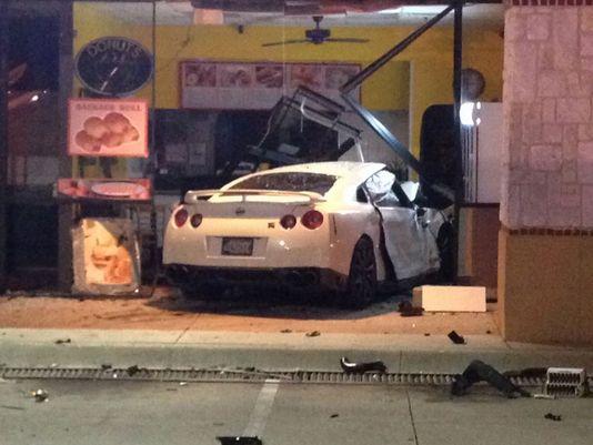 Dallas Police Car Crash