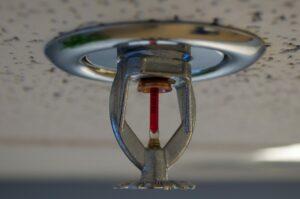 Lack of Fire Sprinkler System