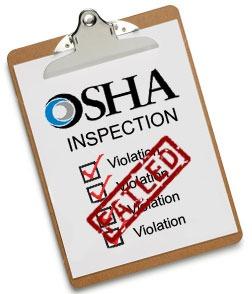 OSHA Inspection Fail