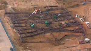 Building Collapse in Argyle Texas