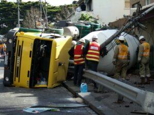Concrete Mixer Truck Accidents in Dallas