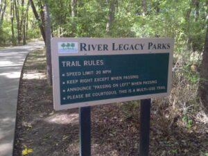 River Legacy Park in Arlington, TX