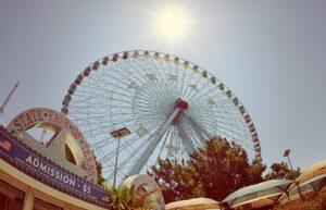 Texas State Fair ferris wheel in Dallas TX