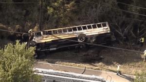 Mesquite ISD bus fiery crash Kills Jazmine Alfaro Villarreal